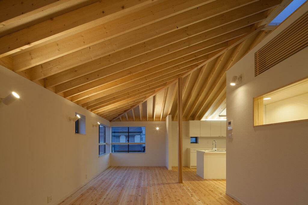 萱方の住宅